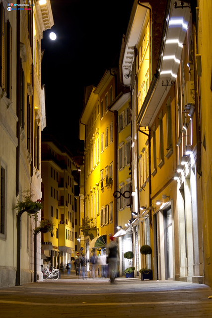 Trento in the Night