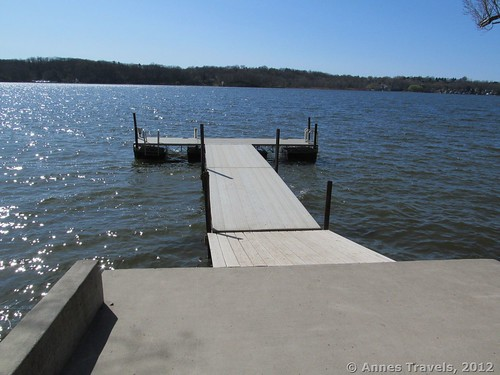 Dock along the White Trail, Abraham Lincoln Park, Webster, New York