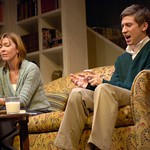 Troy Deutsch and Donna Bullock in Huntington Theatre Company's Rabbit Hole at the Boston University Theatre. Part of the 2006-2007 season. Photo: Eric Antoniou.