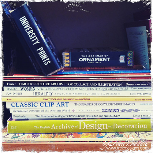 a few reference books in my collection