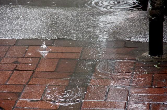 下雨天/電子街