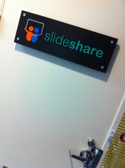 SlideShare Logo from Flickr via Wylio