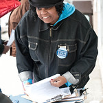 Lansing MI, Voter Registration Day of Action, 04/28/12