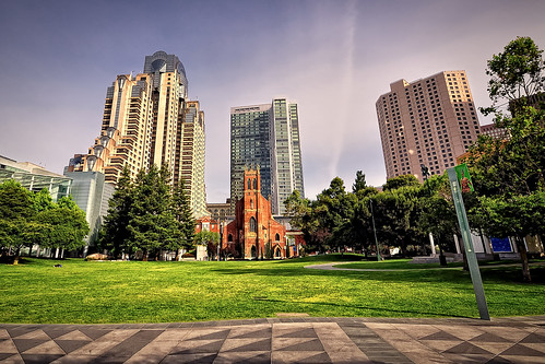 Yerba Buena Gardens. St. Patrick Catholic Church (I). San Francisco (California)