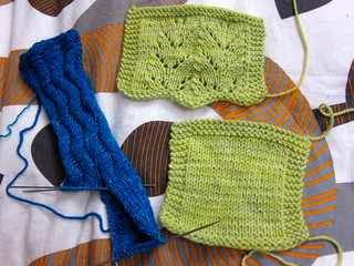 Knitting progress
