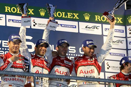 Equipo Audi 6 horas Spa