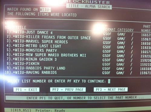 Wii Games List 2012 : Rumor blockbuster leaks list of upcoming wii u games