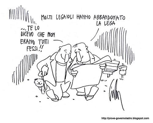 Fuga dalla Lega by Livio Bonino