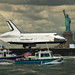 Space Shuttle Enterprise Move to Intrepid (201206060002HQ)
