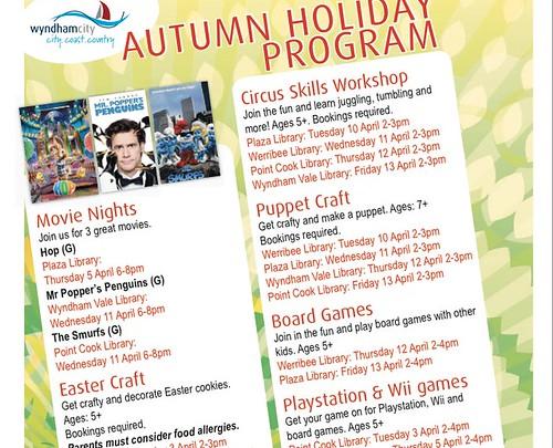 School holiday activities Melbourne