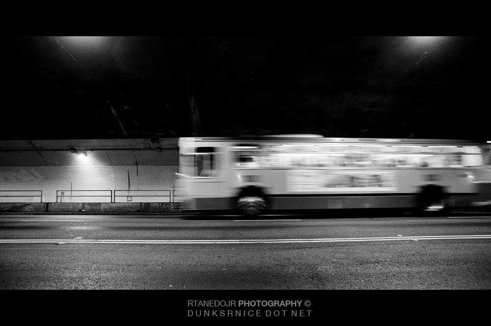 Bus B&W.