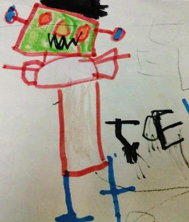 by Joel, age 5