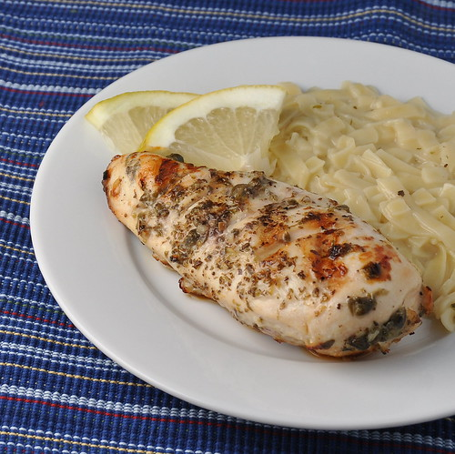 Grilled Chicken with Lemon, Capers, and Oregano – The Way to His ...