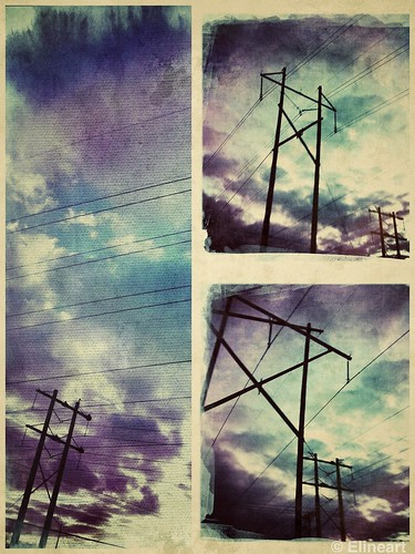 332/365- Running Electricity by elineart