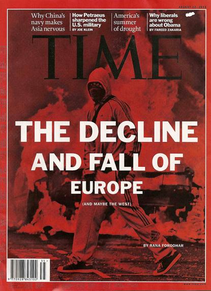 11h12 Times Decadencia de Europa baja Uti