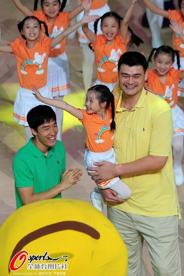 June 10th, 2012 - Yao Ming at the opening ceremony of the of the inaugural Shanghai Municipal amateur public competition