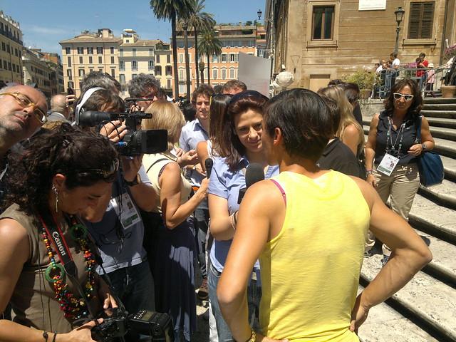 Rome Masters draw ceremony: Francesca Schiavone
