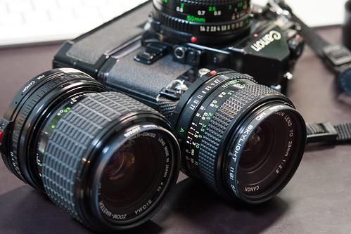 Repaired lens