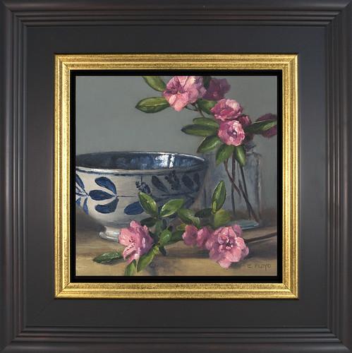 Azaleas - framed