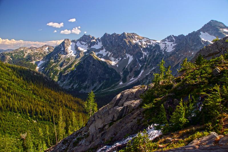 Ice Creek Valley, Entiat Mountains, Glacier Peak Wilderness