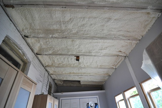 At Long Last Insulating The Porch Ceiling