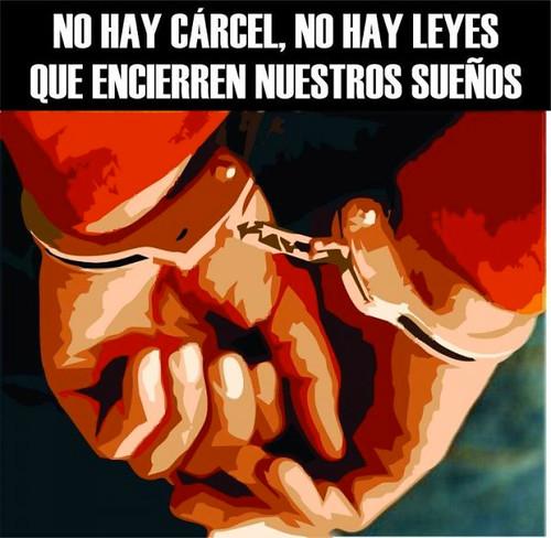 No hay cárcel, no hay leyes que encierren nuestros sueños - Laura Gómez libertad