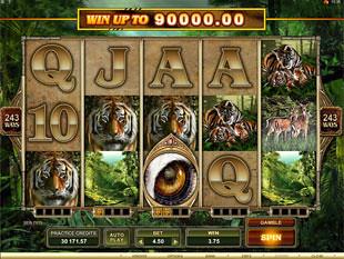 Untamed Bengal Tiger slot game online review