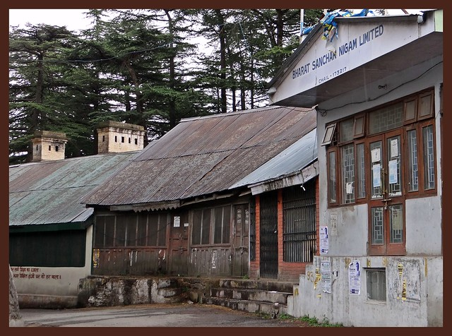Old buildings at Chail