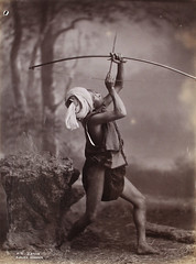 A Shan [Man with bow and arrow]