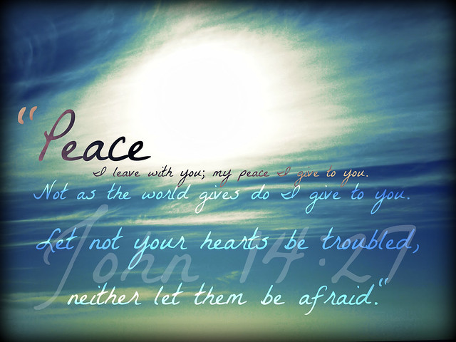 """Peace of Christ..."""
