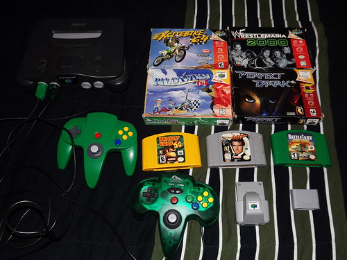 N64 Console, Games, Controllers, & Accessories