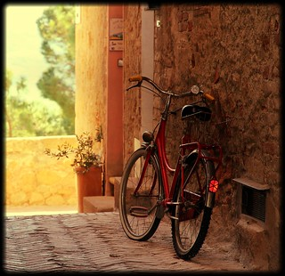 I found a bike for marjon b. in pienza!