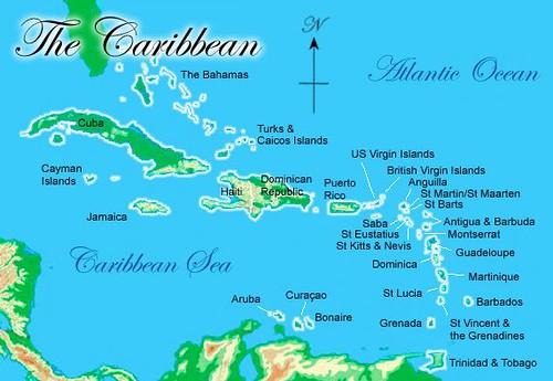 caribbean-bahamas-map