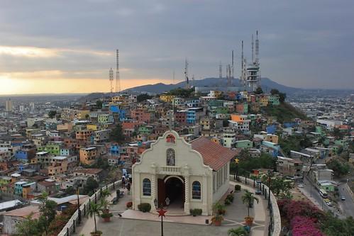 ecuador guayaquil guayas cerrodelcarmen cerrosantaana capillasantaana santiagodeguayaquil
