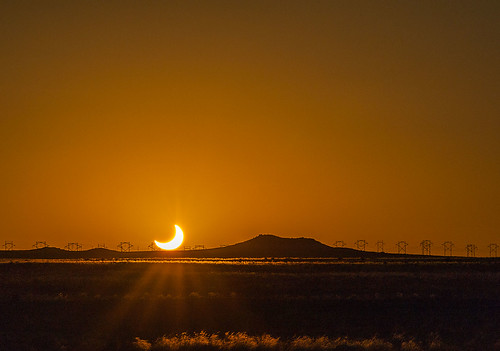 sunset sun sol eclipse nikon albuquerque crescent nm solareclipse tamron200500 annulareclipse annular d700