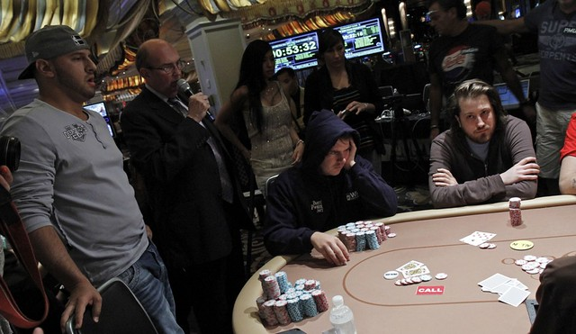 4624 Steve ODwyer Doubles Thru Michael Mizrachi