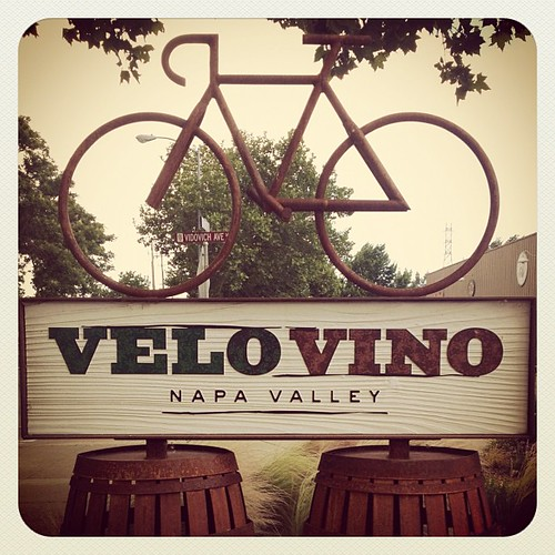 SF to Napa. Made it. #velovino