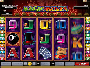 Magic Boxes slot game online review