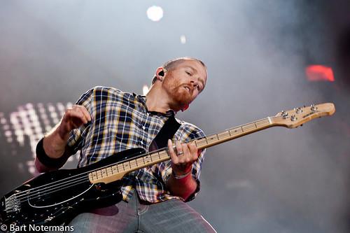 Pinkpop 2012 mashup foto - Linkin Park op Pinkpop 2012