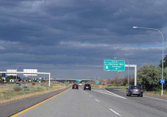 I-182 @ SR 240 westward