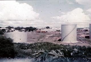 Photograph 0435 - Darwin Shell Tank Farm from Carey Street 1962