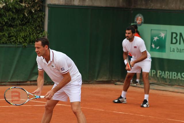 Michael Llodra and Nenad Zimonjic