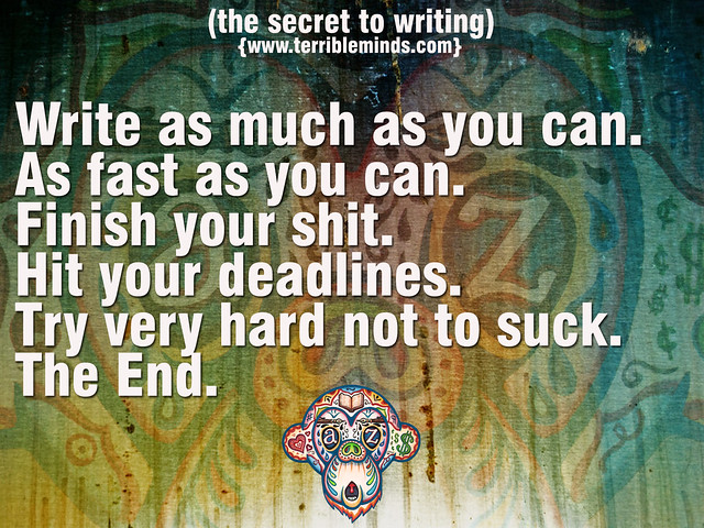 The Secret To Writing?