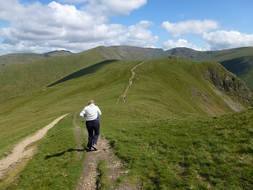 Fairfield Horseshoe - towards Low Pike
