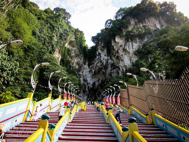 272 Steps at Batu Caves