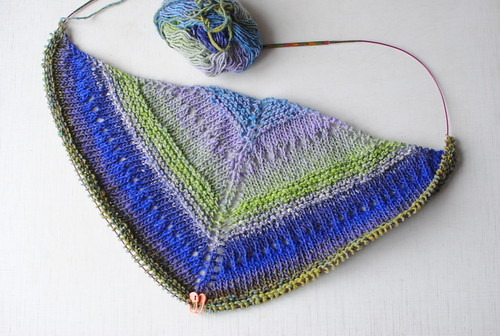 Starting new shawl