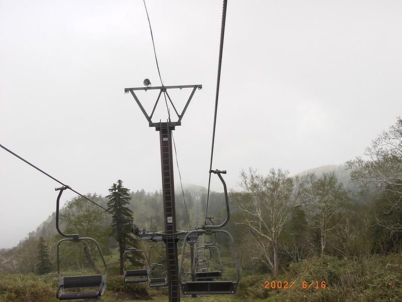 052黑岳纜車