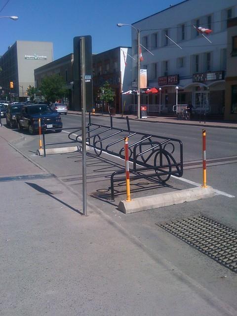 image of bike rack