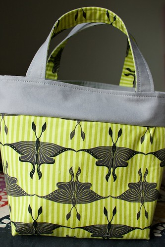 Luna moth Lunchbag