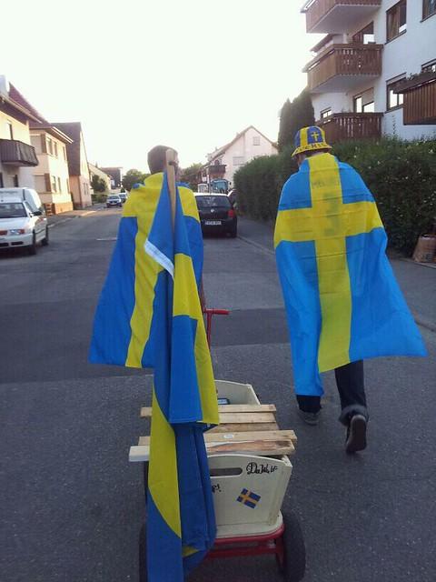 Verschwedet